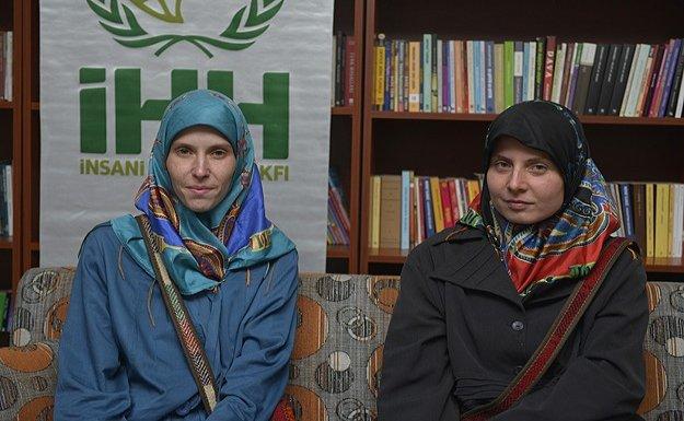 Pakistan'da rehine tutulan kadınları İHH kurtardı