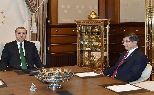 Cumhurbaşkanı Erdoğan Başbakan Davutoğlu'nu kabul edecek