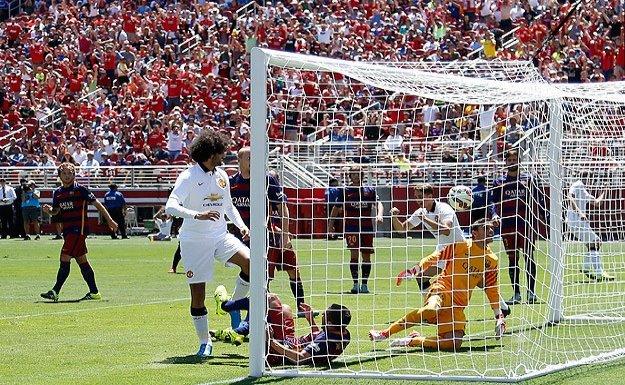 Manchester United Barça'yı 3-1 yendi