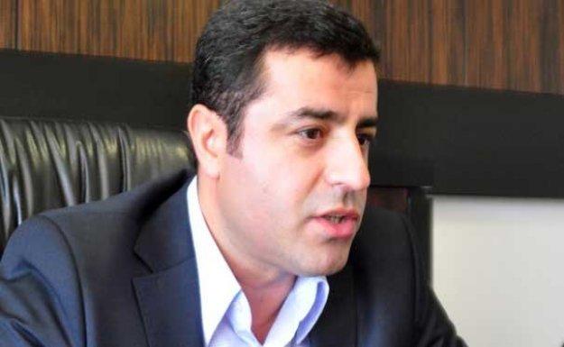 Demirtaş: Operasyonların amacı erken seçimde HDP'yi vurmak