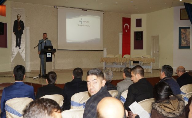 Çubuk'ta İstihdam Toplantısı Düzenlendi