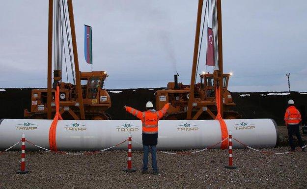 TANAP boru hattı inşaatı Punj Lloyd-Limak  Ortaklığının