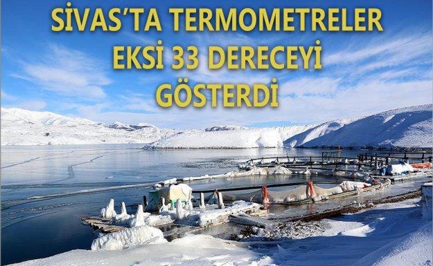 Türkiye'nin En Soğuk Yeri Sivas'ın İmranlı İlçesi