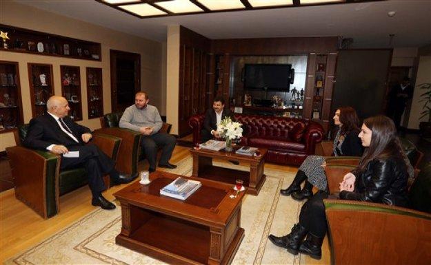 Batıkent Halkevi'nden Başkan Yaşar'a Ziyaret
