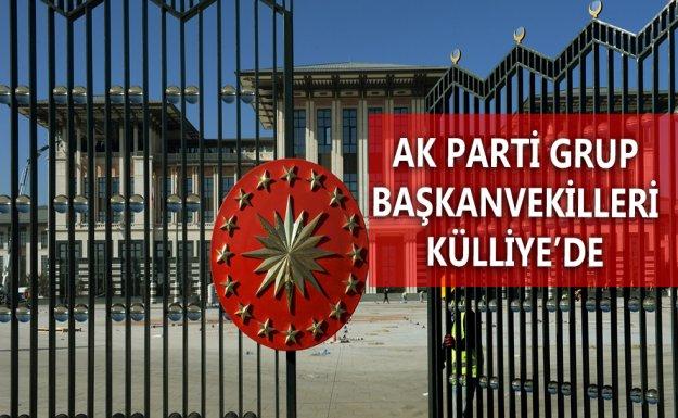 AK Parti Grup Başkanvekilleri Erdoğan'la Görüştü