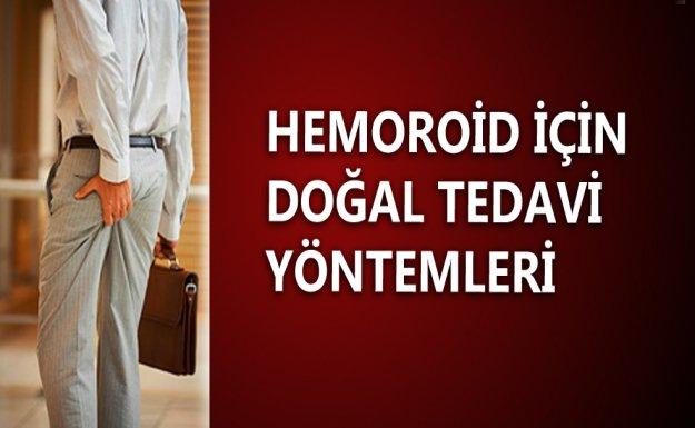 Hemoroidin Doğal Tedavi Yöntemleri