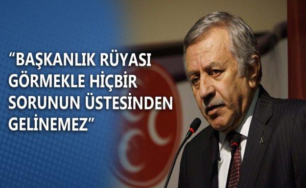 MHP'li Adan'dan Başkanlık Eleştirisi