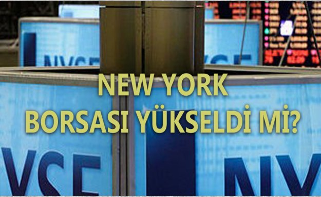 New York Borsası Yükselişle Kapadı