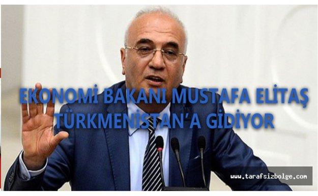 Ekonomi Bakanı Elitaş Türkmenistan'a Gidiyor