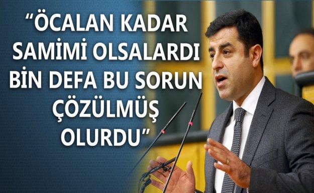 Demirtaş HDP Grup Toplantısında Konuştu