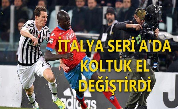İtalya Seri A'da Yeni Lider Juventus