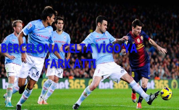 Barcelona Celta Vigo'ya Fark Attı 6-1