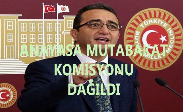 Anayasa Mutabakat Komisyonunu Meclis Başkanı Sonlandırdı