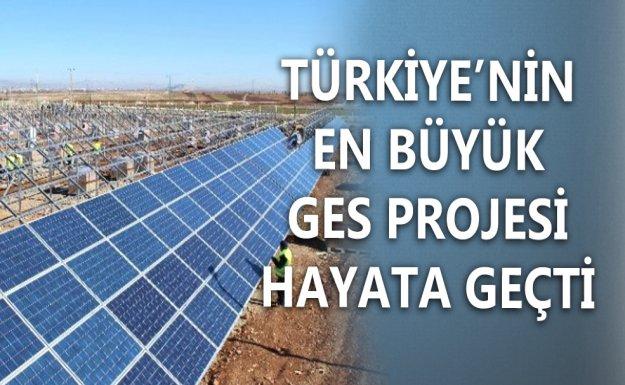Türkiye'nin En Büyük Güneş Enerji Santrali Adıyaman'a Kuruldu