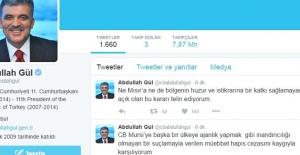 Gül'den 'Mursi' Açıklaması: Kaygıyla Karşılıyorum