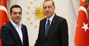 Cumhurbaşkanı Erdoğan, Çipras ile Telefon Görüşmesi Yaptı