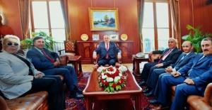 DYP Genel Başkanı Özaçıkgöz: Bayrak TBMM Başkanı'na Teslim Edildi