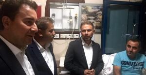 Ertürk ve Babacan'dan Hastane Ziyareti