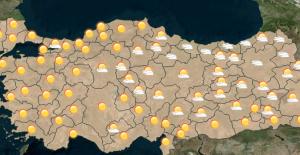 Meteoroloji'den 4 İl Kuvvetli Yağış Uyarısı