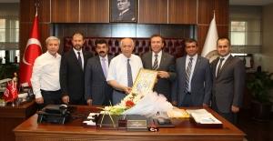 ORSİAD, Fethi Yaşar'ı Ziyaret Etti