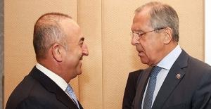 Bakan Çavuşoğlu, Lavrov Görüşmesi