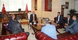 Birleşik Kamu-İş Heyeti Kılıçdaroğlu'nu Ziyaret Etti