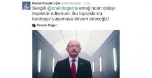 Kılıçdaroğlu'ndan Video Teşekkürü