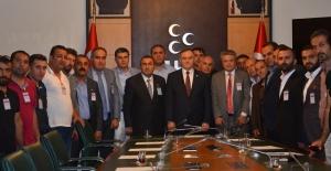 MHP'ye Hakkâri Ve Şırnak'tan Teşekkür Ziyareti