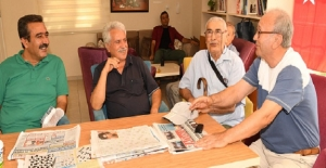 Soner Çetin'den Emekli Dinlenme Evlerine Ziyaret