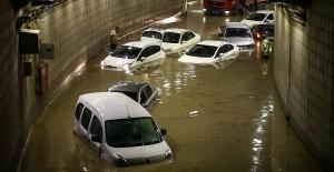 Yağış Başkenti Olumsuz Etkiledi