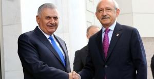 Başbakan Yıldırım ile Kılıçdaroğlu FETÖ ve Anayasayı Görüştü