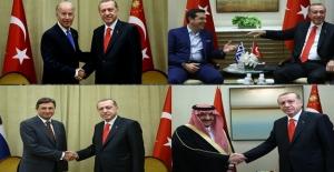 Cumhurbaşkanı Erdoğan Dünya Liderlerinin İlgi Odağı Oldu