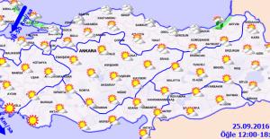 Hava Sıcaklığı Mevsim Normallerinin Altında Seyredecek