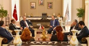 Bakan Özhaseki, KKTC Turizm Ve Çevre Bakanı Fikri Ataoğlu İle Görüştü