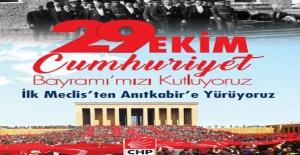 CHP 29 Ekim'de 'Büyük Yürüyüş' Düzenleyecek