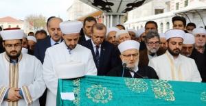 Cumhurbaşkanı Erdoğan, Enver Baytan'ın Cenaze Törenine Katıldı
