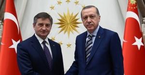 Cumhurbaşkanı Erdoğan, Polonya Ulusal Meclis Başkanı Kuchcinski'yi Kabul Etti