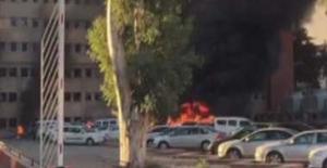 Adana'da Valilik Otoparkında Patlama