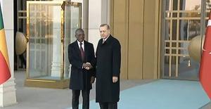 Benin Cumhurbaşkanı Talon Cumhurbaşkanlığı Külliyesinde