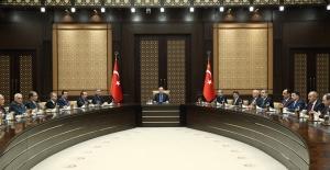Cumhurbaşkanı Erdoğan Irak Türkmen Heyetini Kabul Etti