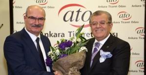 Gürsel Baran Başkanlığındaki ATO Yönetimi Göreve Başladı