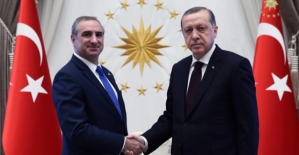 İsrail Büyükelçisi Erdoğan'a Güven Mektubu Sundu