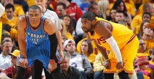 NBA'de Ayın Oyuncuları James ve Westbrook