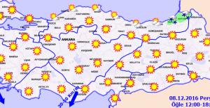 Orta ve Doğu Karadeniz İçin Yoğun Kar Yağışı Uyarısı