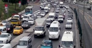 Trafiğe Kayıtlı Araç Sayısı Ekim'de Yüzde 21,8 Arttı