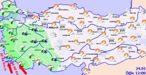 Ankara İçin Kar Yağışı Uyarısı