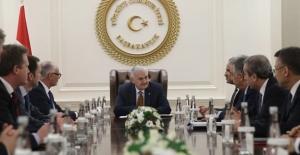 Başbakan Yıldırım Avam Kamarası Heyeti İle Biraraya Geldi
