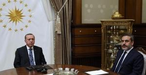 Cumhurbaşkanı Erdoğan MİT Müsteşarı Hakan Fidan'ı Kabul Etti
