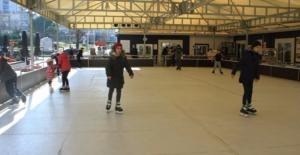 Kartallı Çocuklar Buz Pateniyle Eğlenecek