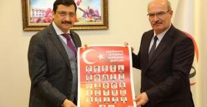 Keçiören Belediye Başkanı AK, ATO'yu Ziyaret Etti